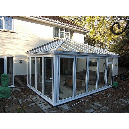 151 - Visi Fold Doors in a Conservatory