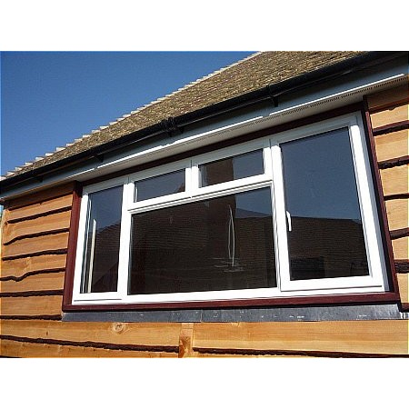 159 - Powder Coated Aluminium Window