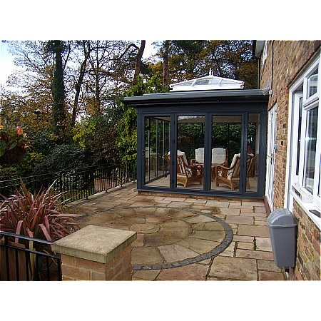 229 - Conservatory with Lantern Style Roof