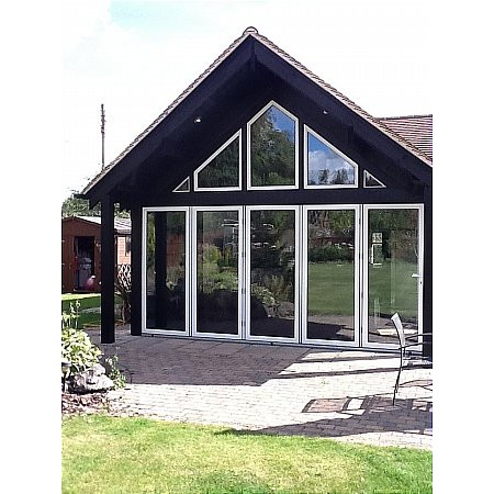299 - Shaped Aluminium Windows
