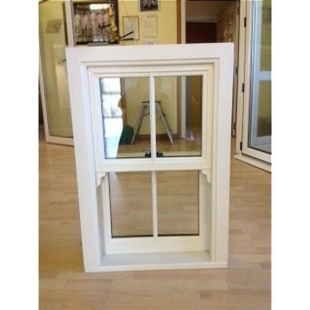 302 - UPVc Vertical Sliding Window
