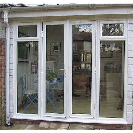 304 - Aluminium French Doors with Sidelights