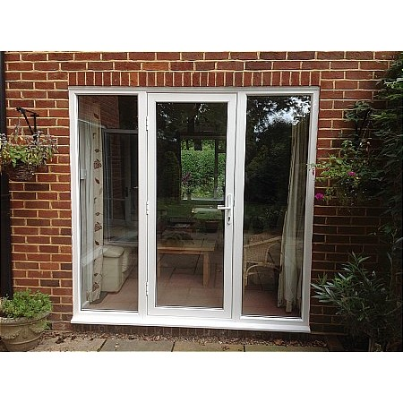 339 - Aluminium Residential Door With Sidelights