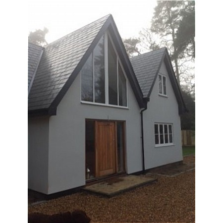354 - Powder Coated Aluminium Windows in Matt White