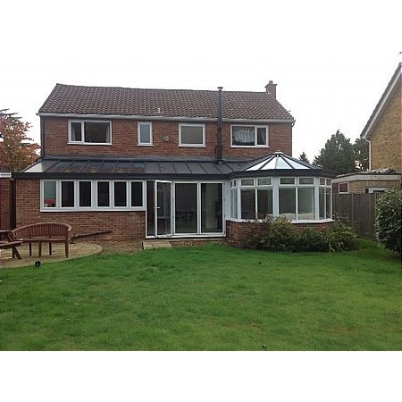 404 - Extension with attached Conservatory