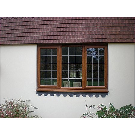 Smart Systems - Wood Effect UPVC Window