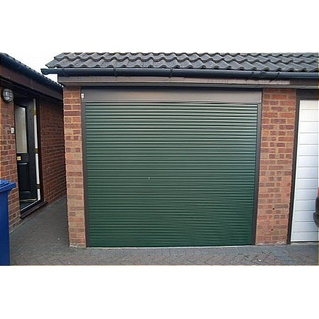 Hurricane - Alutech Roller Green Garage Door