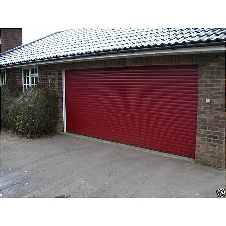 Hurricane - Alutech Roller Red Garage Door