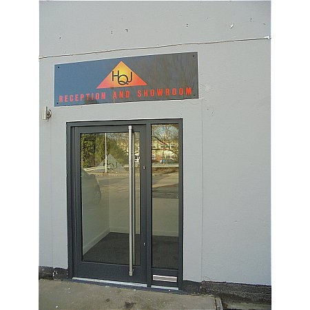 416 - High Quality Commercial Door Entrance