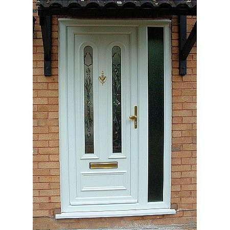Britannia Windows - UPVC Triple Glazed Bevel Door