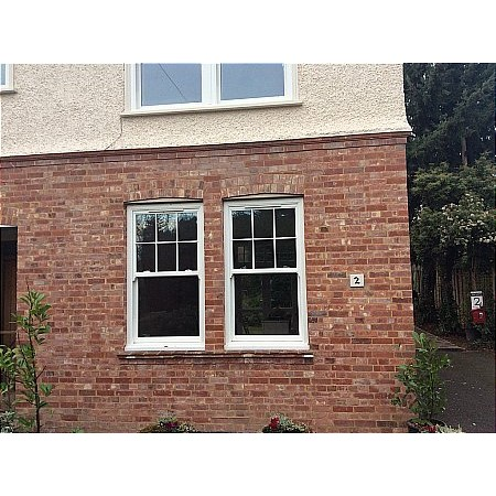 448 - UPVc Box Sash Windows