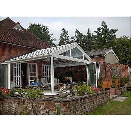 35 - Bi Folding Doors both side of a Conservatory